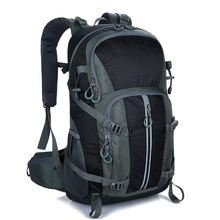 50L Thick Waterproof Hiking Sports Backpack Male Outdoor Climbing Bag Unisex Camping Trekking Travel Pack Rucksack For Men Women