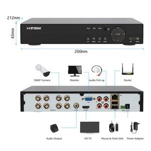 Image 4 - H.VIEW AHD DVR 8ch 4ch Recorder Surveillance 1TB HDD AHD DVR 8ch 4ch Recorder Surveillance for Analog TVI CVI IP Camera