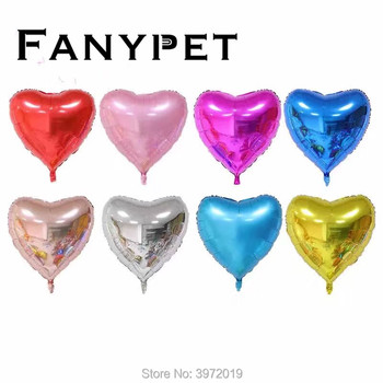 1pc Large 32inch 75CM Heart Foil Balloons Wedding Birthday Party Decor Helium Inflatable Globos Gaint Heart Shape Balaos image