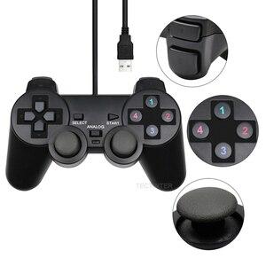 Image 3 - PC Controller USB Verdrahtete PC Joystick Für PC Windows Spiel Joypad Gamepad Für WinXP/Win7/Win8/Win10 für Vista