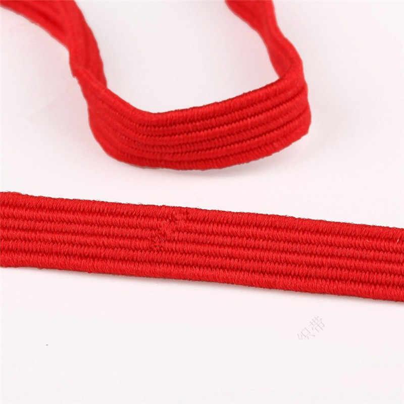6mm elástico fita elástico elástico elástico elástico linha elástica cabo diy rendas guarnição costura cintura faixa acessórios para vestuário 4 metros