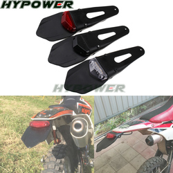Para ktm cr exc wrf 250 400 426 450 polisport motocicleta led luz da cauda & traseiro fender parar enduro taillight mx trail supermoto