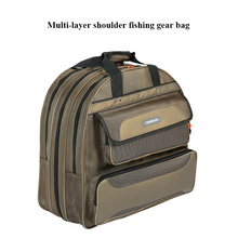 Three-layer Thick Fishing Gear Bag Two-layer Outdoor Hiking