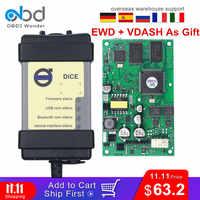 Chip completo para Volvo Vida Dice Pro herramienta de diagnóstico del coche Software 2014D OBD2 escáner para Volvo EWD VDASH actualización del Firmware autoprueba