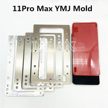 YMJ Molde de laminación 11 Pro Max, 11promax, vidrio OCA, digitalizador, pantalla táctil LCD, reparación de laminación