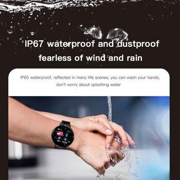 Sport Smart Watch Men Smartwatch Women Smart Watch Blood Pressure Heart Rate Monitor Waterproof Smartwatch Watch For Android IOS 1