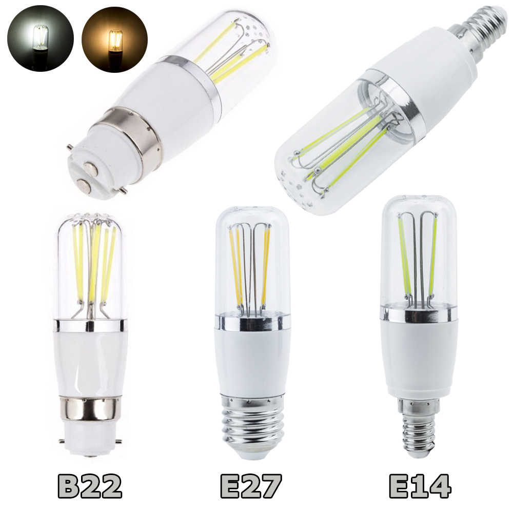 E14 E27 B22 Dimmable LED Filament Light Bulb Corn Shape 3W 4W 6W Home Chandelier Lamp 110V 220V 12V Replace 30W-60W Incandescent