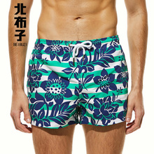 Men's Beach Board Shorts Swimsuits Sports Fashion Striped Flower Printing Quick-drying Beach Shorts Boxer naturehike factory store breathable perspiration antibacterial function men sports quick drying underwear boxer shorts