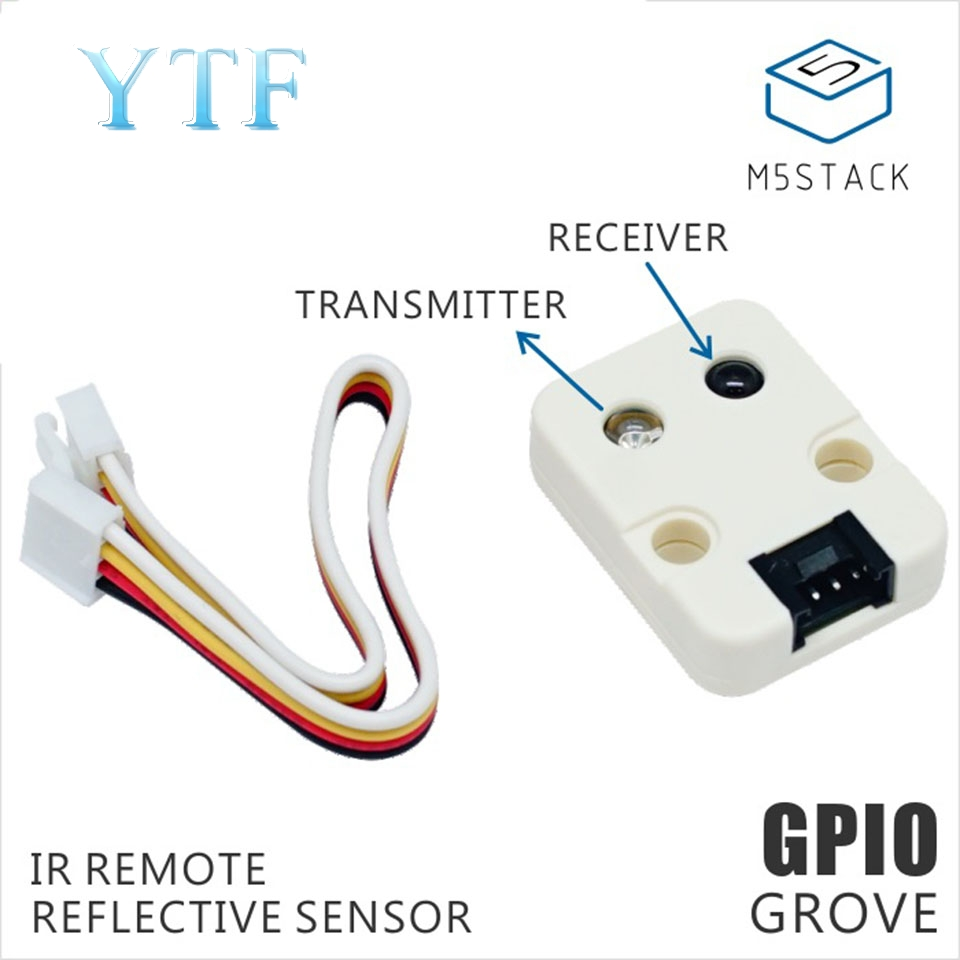 M5Stack Infrared Unit IR Transmit / Receive Infrared Distance Sensor GPIO Interface