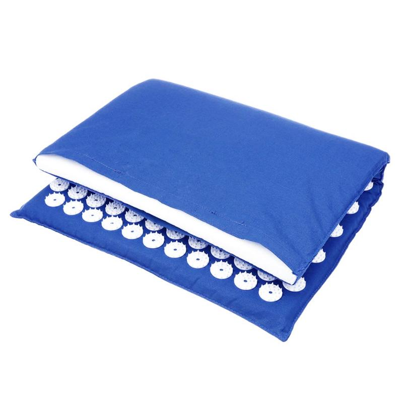 Acupressure Massage Mat with Pillow set to body Relaxation to Release Stress and Tension 17