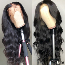 Deep Part 13x6 13x4 Lace Front Wig Pre Plucked Brazilian Body Wave Lace Front