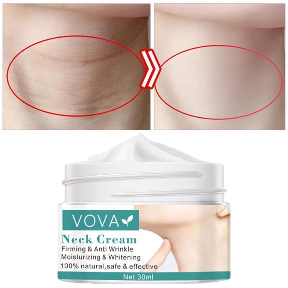 30ml Peptide Neck Wrinkle Cream Anti Aging Neck Cream Anti Wrinkle Whitening Nourishing Firming Cream Skin Care