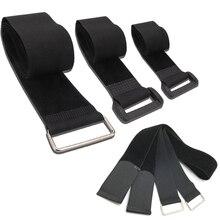100 см* 5 см нейлоновый веревочный ремень на липучке, держатель для багажа, крепежные ремни, ремни для мотоцикла, автомобиля, сумки для кемпинга, волшебные липучки