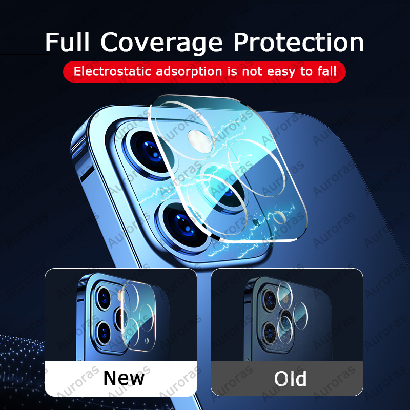 Tempered Glass Camera Lens Protector Cover for iPhone 12 Mini