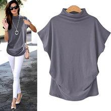 Kobieta koszulki koszulki w stylu Harajuku kobiety golf z krótkim rękawem bawełna jednokolorowa na co dzień Top T Shirt mujer koszulki t-shirty damskie