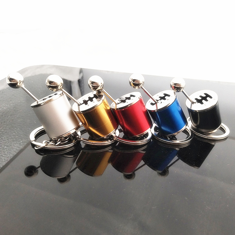 Keychain Car-Gear-Box Shift-Knob-Type 6-Speed Manual Manual