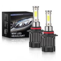 2pcs H7 LED Headlights  M5 Car LED Headlights 9005 9006 H7 H8 H9 H11 H4 Car Headlight Bulbs 6000K 2500LM 25W Headlights 1