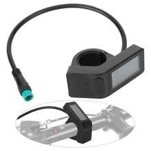 Elektrikli bisiklet lityum pil dönüşüm LCD4 enstrüman su geçirmez konnektör KT LCD4 enstrüman karışımı e-bisiklet parçaları