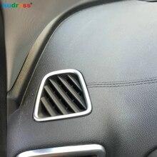 Для KIA Sportage автомобиля ABS Матовый Интерьер Кондиционер AC вентиляционная крышка отделка внутренняя Розетка отделка рамы 2 шт