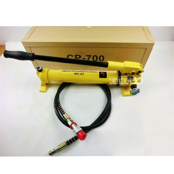 New Arrival CP-700 High Pressure Hydraulic Manual Pump Portable Hydraulic Pump 700 (Kg / cm2) 900CC Hydraulic Pump Hot Sale