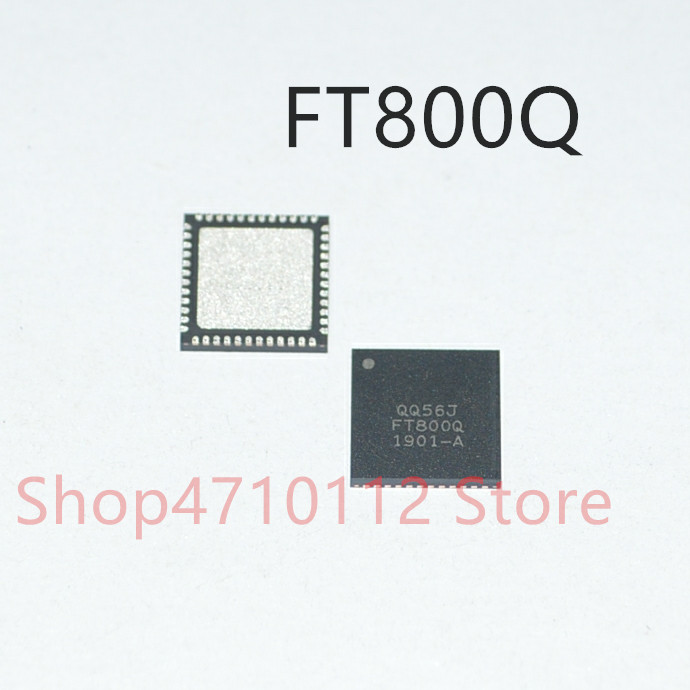 Free Shipping  10PCS/LOT NEW  FT800Q FT810Q FT810Q-T FT811Q FT800 FT810  FT811 QFN-48