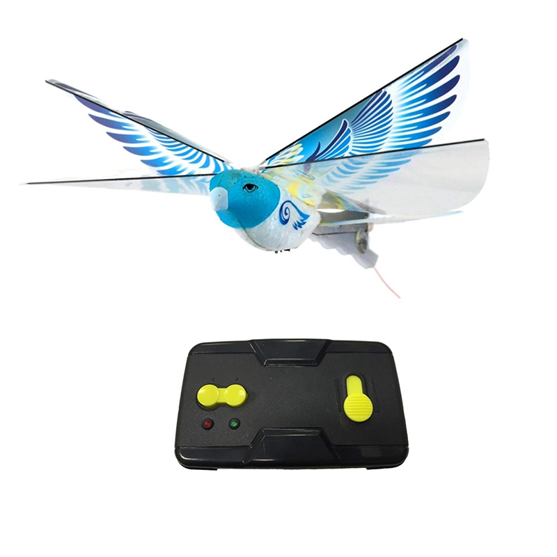 FBIL-Remote-Controlled Bird Simulation Flapping-Wing Flight  Induction Bird Electric Eagle Remote Control Bionic Bird