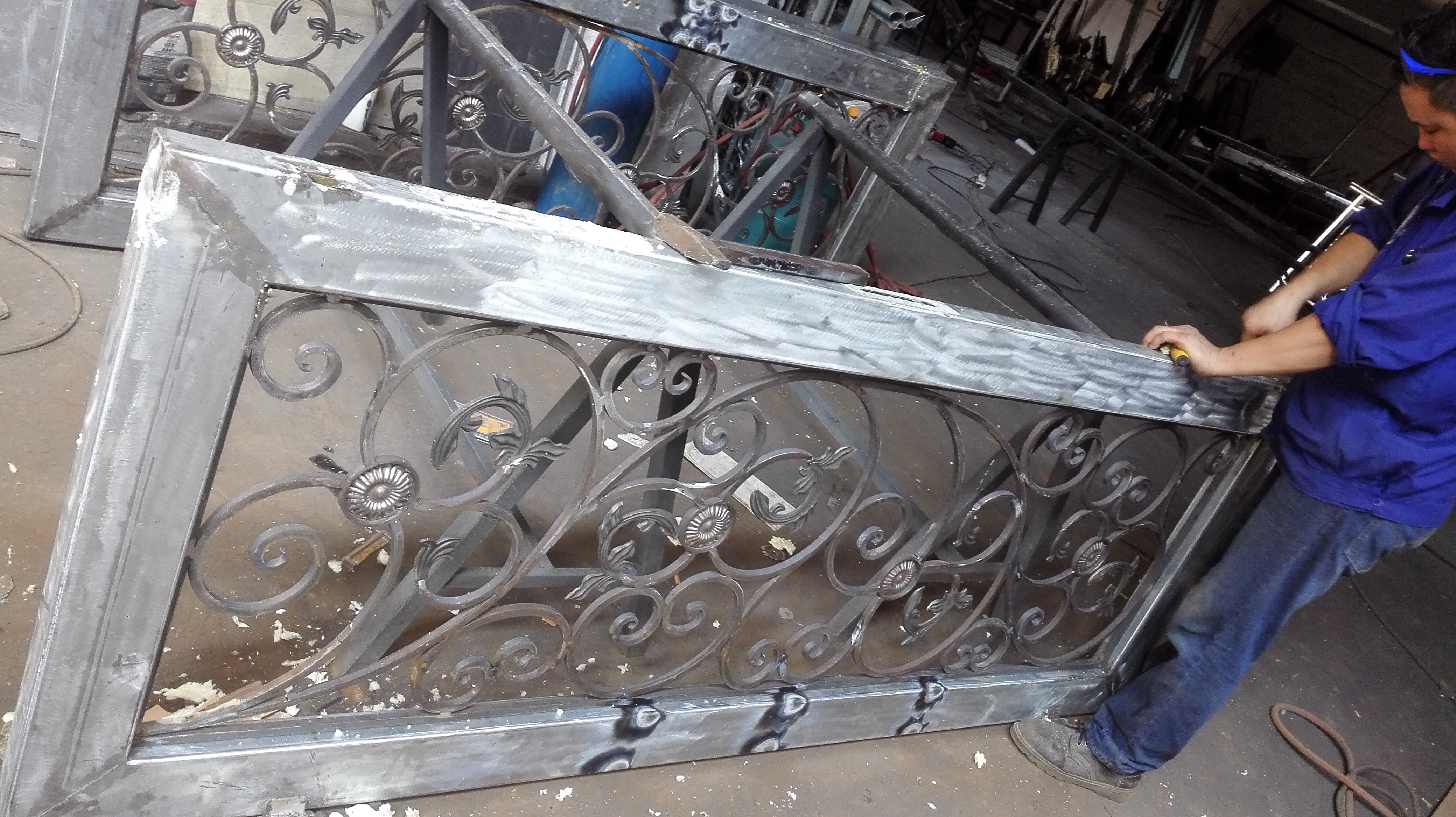 Hench 100% Steel Iron Doors  Model Hc-id77