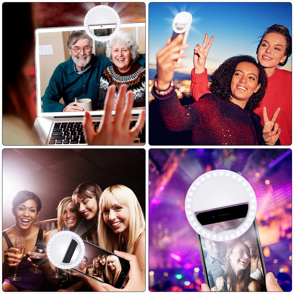 Image 5 - Smart Phone Camera  Androids Vlogging on Instagram Facebook YouTube   36 Rechargable LED Phone Light-in Phone Holders & Stands from Cellphones & Telecommunications