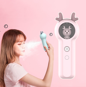 portable air humidifier beauty face steamer skin care tools nano mist nebulizer Women Facial Sprayer cleanser diffuser 20ml usb rechargeable portable face spray nano mister facial steamer hydrating skin nebulizer face care tools beauty