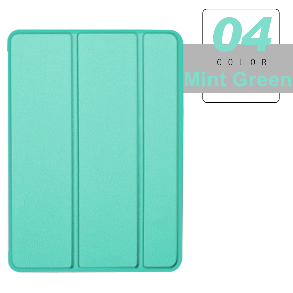 Mint Green BLACK For iPad Pro 11 2021 2020 Flip Tablet Case Stand Smart Cover Funda For pro 11
