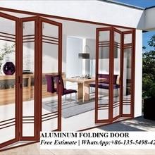 Наружные Тяжелые алюминиевые двухстворчатые двустворчатые двери дизайн Австралийское стандартное стекло складные двери