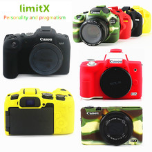 Silicone DSLR Camera Body Case Protective skin Cover bag for Canon EOS R6 R5 R RP M50