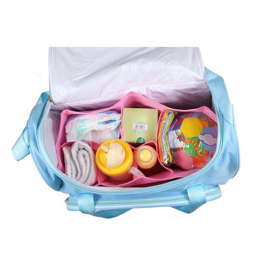 4PCS/set Car Printed Mother Bag Baby Diaper Bags Sets Multifunctional Baby Nursing Nappy Bag for Mom Organizer