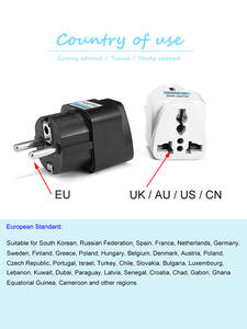 Adapter Power-Socket Electrical-Plug-Converter Eu-Plug Euro International Universal KR