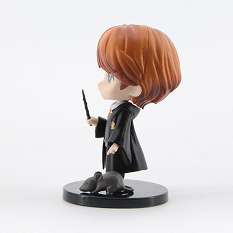 Image 2 - 6pcs/set 8 10cm  Movie Harri Ron Hemione Action Figures Doll Magician Potters Cake Decoration ToyAction & Toy Figures   -