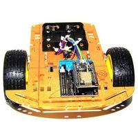 Kit de carro inteligente esp8266 wi fi controle lua 2wd esp nodemcu carro inteligente para arduino