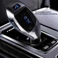 Fm Transmitter mp3 player usb Handsfree Wireless Bluetooth Car Kit Radio Adapter FM Modulator Music Audio For Smartphone VS G7