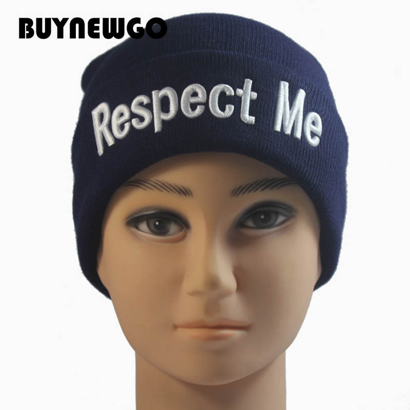 Knit-Caps Wool-Cap Embroidery High-Quality New ME Letter And American Three-Dimensional