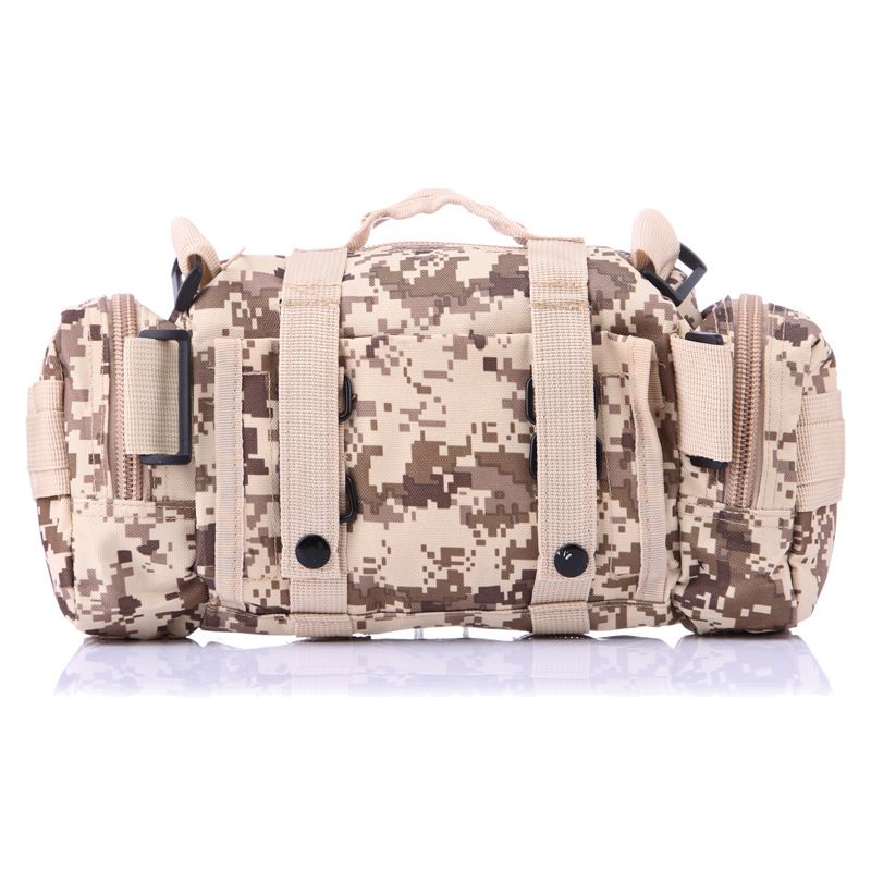 Camouflage Multi-functional 3P Magic Wallet Army Fans Casual Sports Tactical Bag Shoulder Camera Backpack