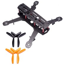 Full Carbon FPV Drone Frame Drone 250 Quadcopter Frame Set Qav250 Is Suitable for FPV Machine Parts 250 mm Quadcopter Frame 3mm(China)