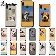 Babaite Cute animal cat dog art silicone case for xiaomi mi a1 a2 lite redmi note 2 3 4 4x 5 5a 6 mobile phone accessories cltgxdd 5 10pcs headphone audio jack socket for xiaomi 4 4c 5x a1 redmi 1s 2 2a 3 3s 3x 4a 4pro prime max2 note 1 2 3 3pro 4 4x