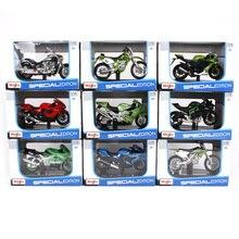 Maisto 1/18 1:18 skala BMW R1200 GS motocykle motocykle Diecast modele wyświetlania prezent urodzinowy zabawka dla chłopców dzieci