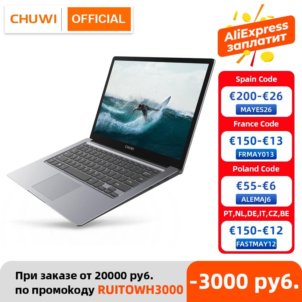 CHUWI HeroBook Pro+, 13.3 Inch, 3200*1800 Resolution, Intel Celeron J3455 Processor, LPDDR4 8GB, 128GB ROM, Windows 10, Laptop 1