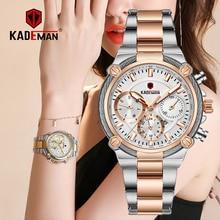 Relojes de pulsera para mujer de lujo de marca superior, relojes de negocios para mujer 3ATM, nuevo reloj de moda para mujer, pulsera de acero Relogio Feminno 836