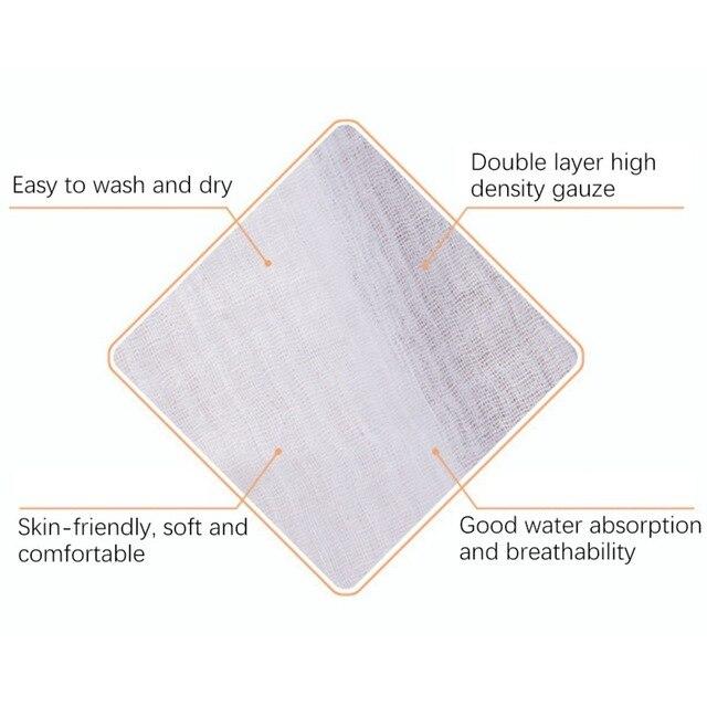 Pure Cotton Gauze Cloth Baby Saliva Towel Diaper Tofu Cloth Steamer Cloth DIY Cutting Cloth Face Shield Cloth 100x120CM 5