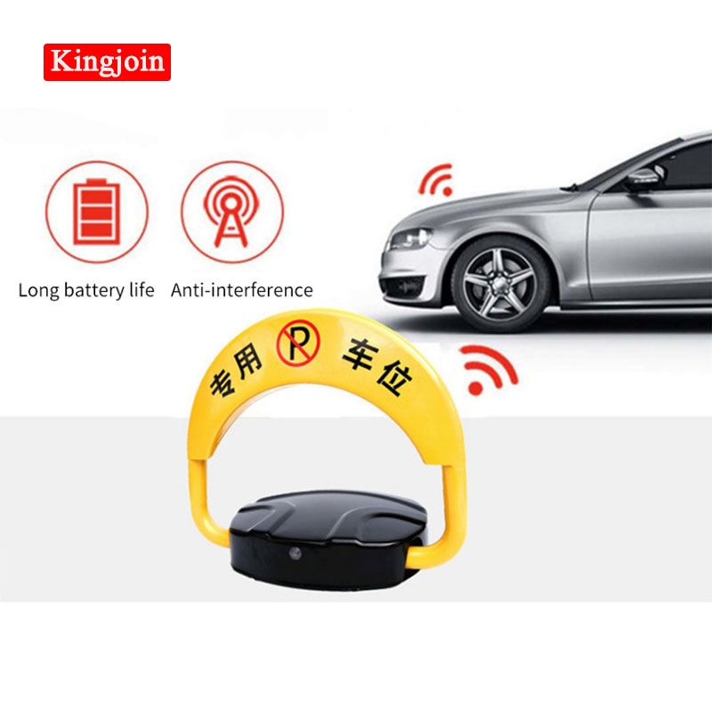 Car Intelligent Remote Control Parking Lock Thicken Collision Garage Automatic Induction Waterproof Wholesale Price Discount