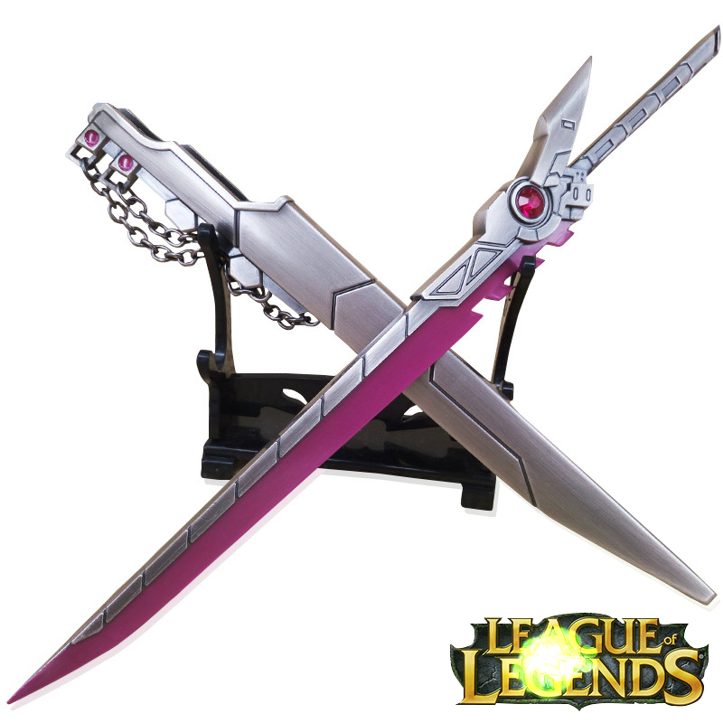 Zinc Alloy 22CM Sword PROJECT Fiora Weapons Collection Home Decorations Decoration Gifts Free Shipping