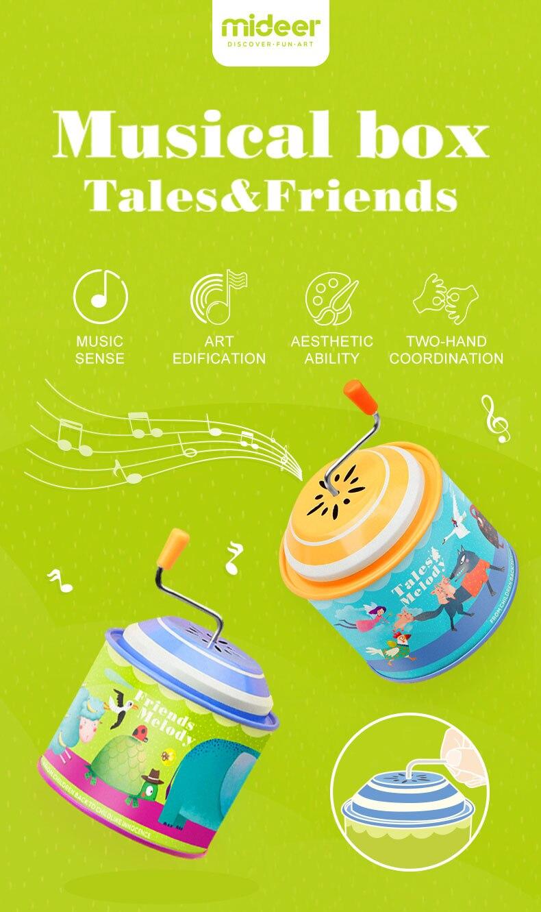 Mideer crianças música educacional clássico retro piano