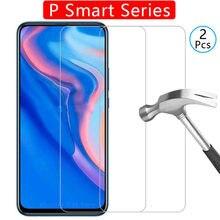 Szkło hartowane Etui na telefon huawei p smart z 2019 plus pokrowiec Etui akcesoria ochronne na psmart p smor psart2019