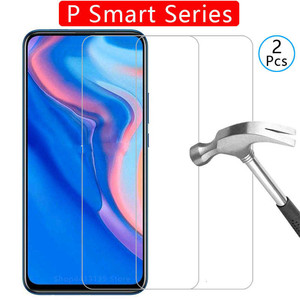 tempered glass phone case for huawei p smart z 2019 plus cover Etui Protective Shell Accessories on psmart p Smar psmart2019(China)